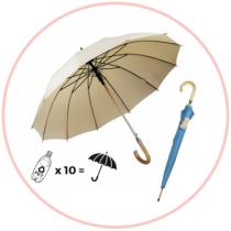 Parapluie eco-conçu