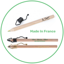 Crayons en bois made in France
