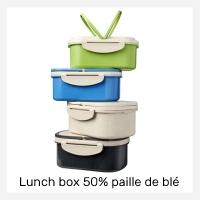 Lunch box objet pub écolo