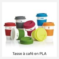 Tasse à café publicitaire en PLA