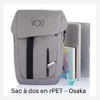 Sac à dos publicitaire en PET recyclé